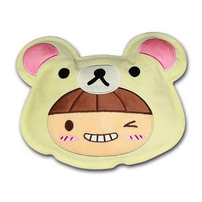 冬季輕松熊充電安全防爆 電熱水袋暖手寶電暖袋