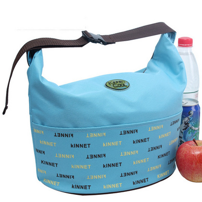 字母插扣手提包 飯盒袋 保溫袋 冰包 午餐便當包定制