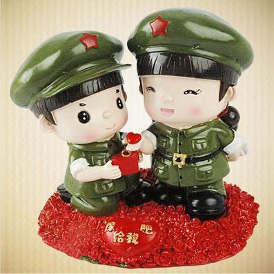 革命系列小兵愛情嫁給我吧 存錢罐 創意居家擺設裝飾品個性擺件