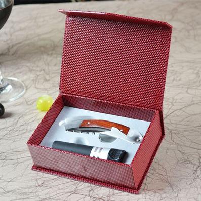 高檔花梨實木酒刀(升級版紙盒2件套)