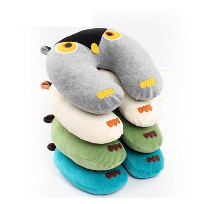 貓頭鷹卡通U型枕定制 頸枕定制