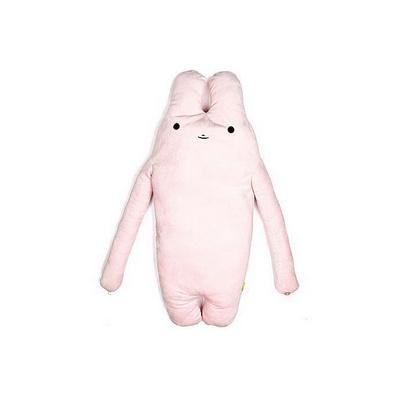 愛面條兔抱枕靠墊大號定制