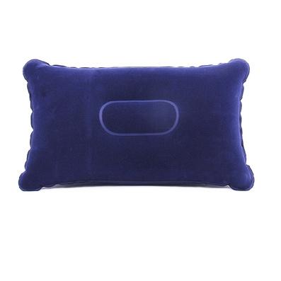 戶外休閑長方形充氣枕  植絨枕頭