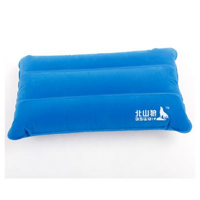 長方形植絨充氣枕頭 戶外枕 充氣枕