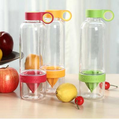 創意榨汁水瓶 創意檸檬杯 定制