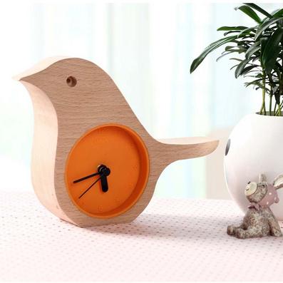 森林晨鸟时钟、创意时钟定制