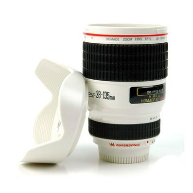 單反紅圈水杯相機鏡頭隨手杯子