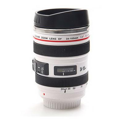 黑色5代鏡頭杯 白色5代鏡頭杯400ml