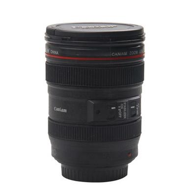 佳能二代相机镜头不锈钢内胆保温杯