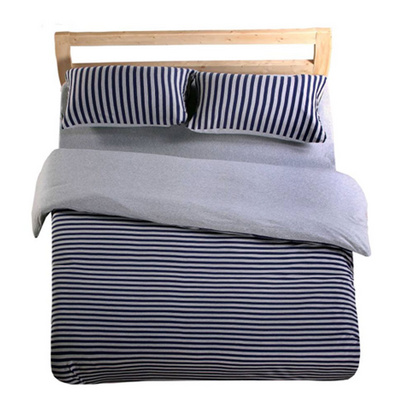 裸睡時代針織四件套