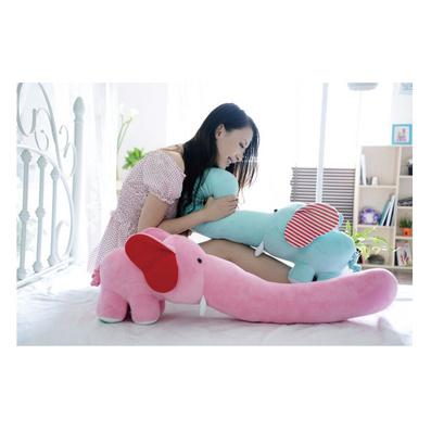 超可爱长鼻子大象抱枕定制