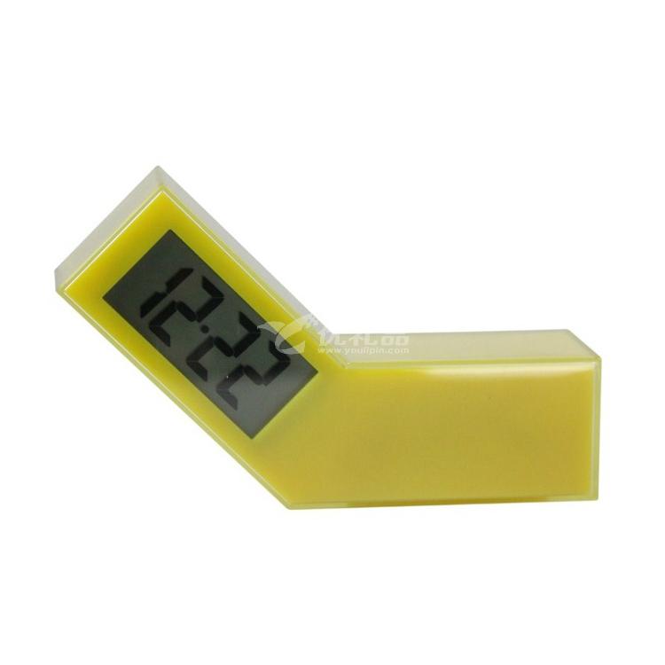 法国LEXON 乐上 LCD闹钟 时钟 摆动倾斜开关时钟定制