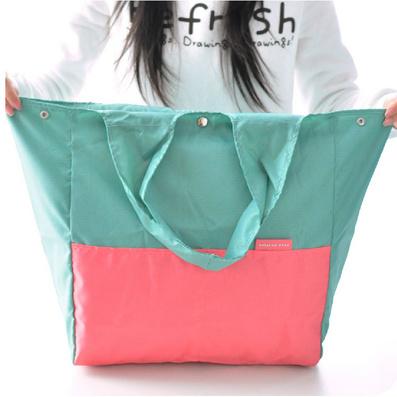 韓式可折疊單肩包挎包