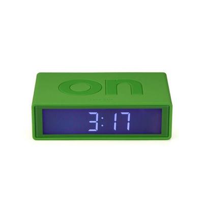 新款LEXON法國樂上翻轉時鐘投藍色背光燈時鐘創意時鐘定制