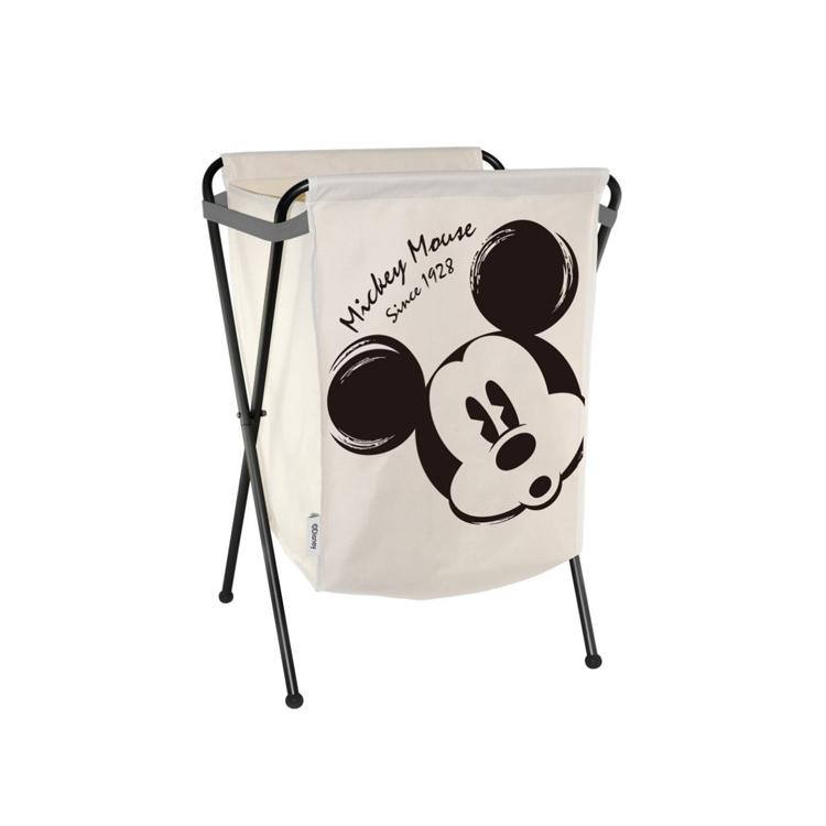正品迪士尼 米奇黑白经典衣物篮 洗衣篮 储物篮必威bet