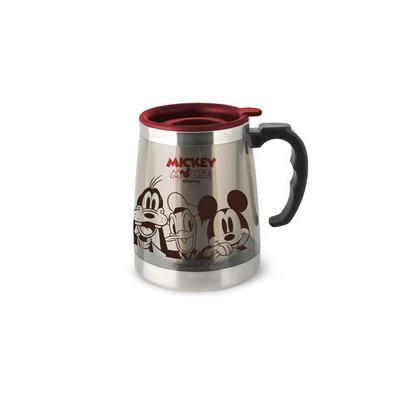 迪士尼米奇合家歡隔熱杯 辦公保溫泡茶杯 水杯 咖啡杯定制