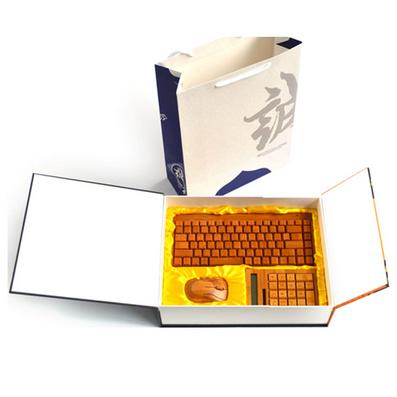 原生態竹木鼠標鍵盤套裝 竹木無線鼠標鍵盤套裝