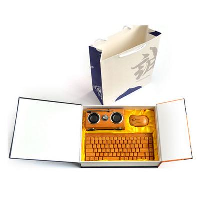 原生態竹木音箱鼠標鍵盤套裝 竹木套裝定做