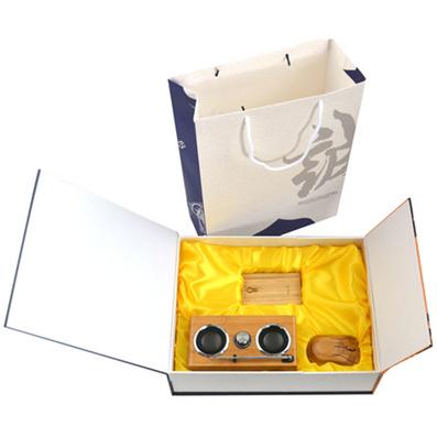原生態竹木移動電源 音箱 鼠標套裝 原生態竹木商務禮品套裝