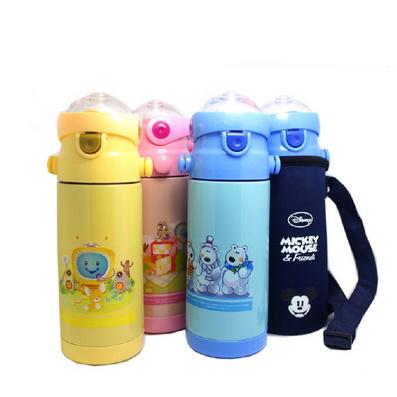 真空娃娃壺兒童吸管杯暖壺保溫杯不銹鋼卡通水杯定制