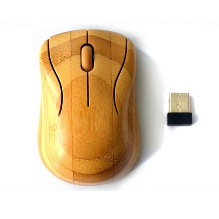 原生態竹木無線鼠標 竹木無線鼠標定做