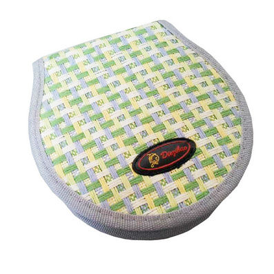 8字形 编织32片装草席CD包 半圆形收纳包