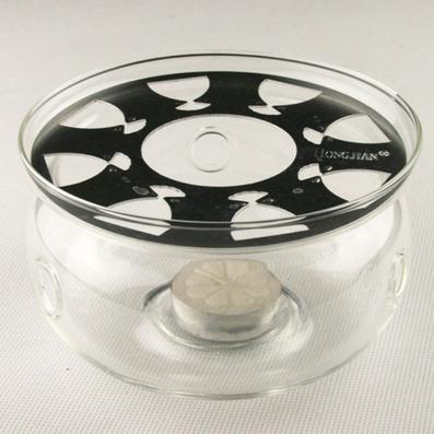 加熱器耐熱玻璃茶具蠟燭保溫底座 溫茶器茶壺加熱器定制