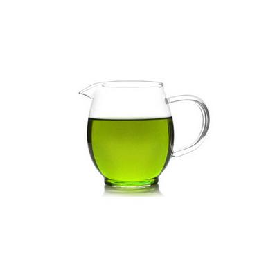 大龍膽公道杯 花茶杯 蛋形玻璃茶水杯定制