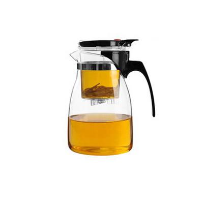 玻璃茶具飄逸壺個人杯900ml玻璃茶壺功夫茶具定制