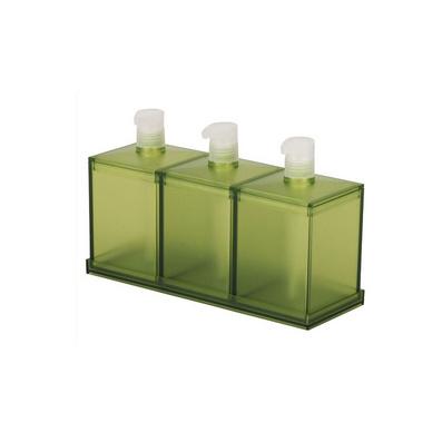 乳液瓶\沐浴液瓶\洗手液瓶 液體盛器三件套定制