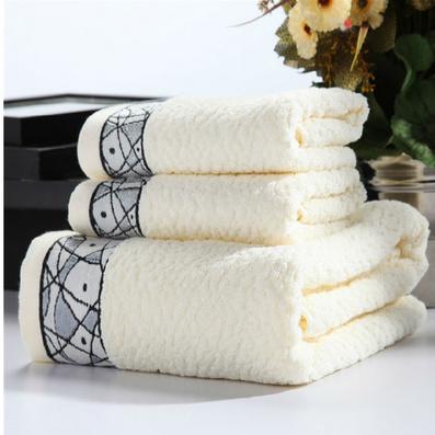 纯棉毕加索毛巾三件套  洗脸巾沐浴巾居家