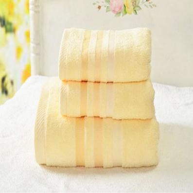 多彩緞 浴巾 毛巾 純棉  三件套
