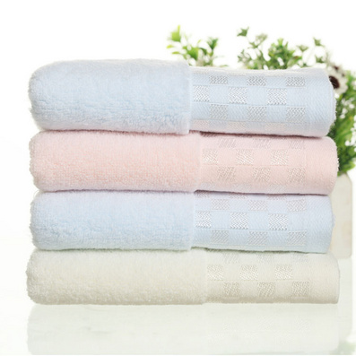 冰絲方塊毛巾浴巾三件套