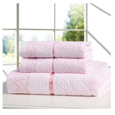 水立方浴巾毛巾三件套