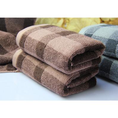 經典英倫風方格毛巾浴巾件套   高檔禮品毛巾  純棉