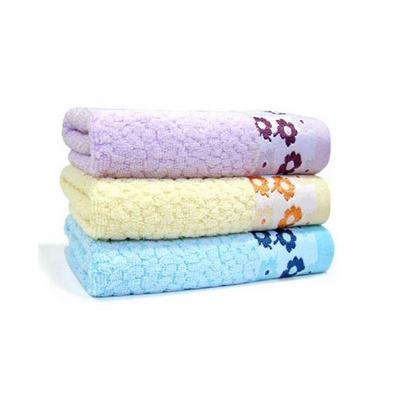 花之語毛巾浴巾三件套 竹纖維浴巾毛巾件套