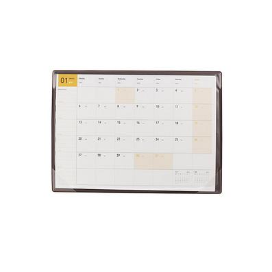 實用備注日記事墊板收納夾A4 桌墊月歷定制