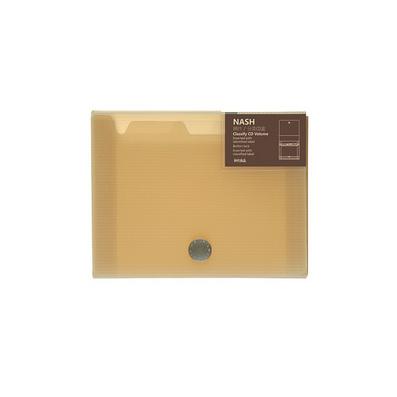 光碟光盤CD盒子半透明車用 分類CD盒定制