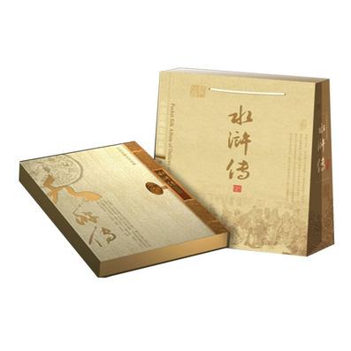 《水浒传》真丝邮票珍藏册 丝绸邮票