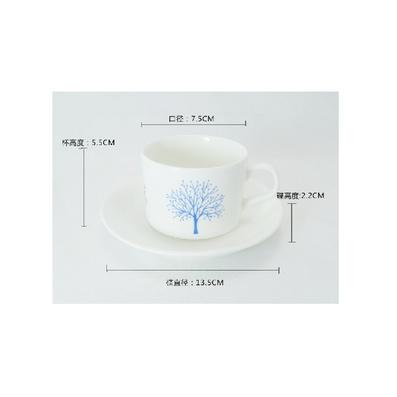 骨瓷航空咖啡杯定制