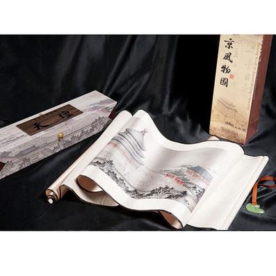 真丝织锦画《天坛》 商务礼品 收藏