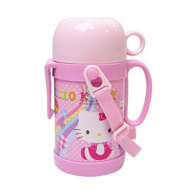 乐扣乐扣 Hello Kitty绚丽彩虹不锈钢保温杯定制