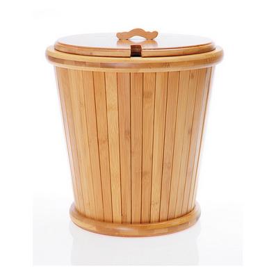 精致孟宗竹茶水桶 茶道配件 茶盤排水桶 茶桶茶渣桶高檔竹茶桶
