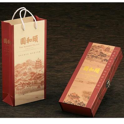 真丝长卷《颐和园全景图》 收藏礼品