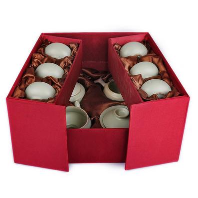 汝窯茶具套裝正品仿宋開片汝瓷整套陶瓷功夫泡茶器茶壺海杯濾網