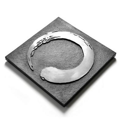 墨跡黑色石茶盤 茶臺茶海 石頭功夫茶盤 烏金石茶桌盤