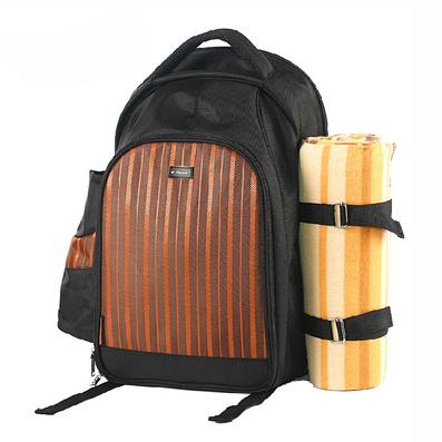 超大容量便攜野餐包 餐具包定制
