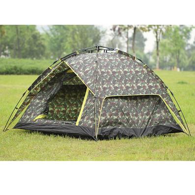 三用型自動帳篷 3-4人多人雙門雙層