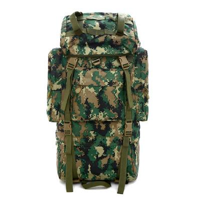 戶外大容量男士登山包 部隊徒步迷彩背包定制