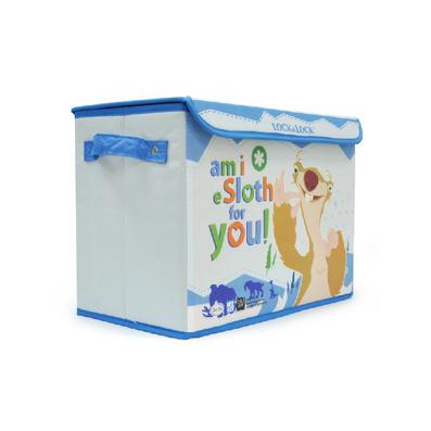 lock乐扣乐扣冰河世纪20L儿童百纳箱整理收纳箱LLB101BIA
